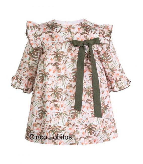 Vestido estampado colección Peach de EVE Children