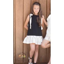 Vestido en negro de la colección Parade de EVE Children