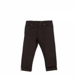 Pantalón largo niño negro de Tutto Piccolo