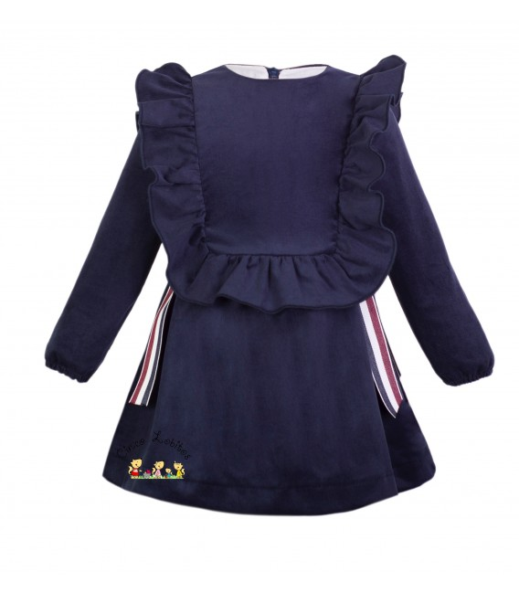 Vestido azul colección British de EVE Children