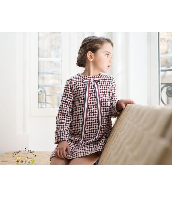 Vestido pata de gallo colección British de EVE Children