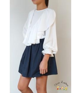 Conjunto blusa y falda colección TEENAGER de EVE Children