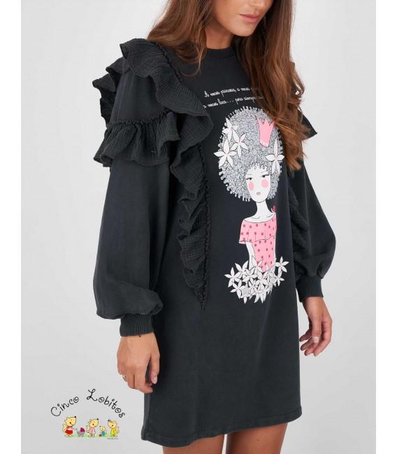 Vestido mujer AFRO de Anabel Lee