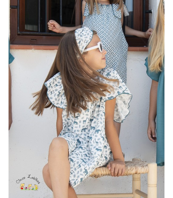 Vestido LAGOON animales de EVE Children