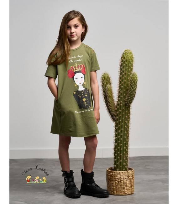 Vestido niña CORONA de Anabel Lee