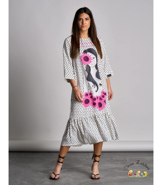 Vestido FLORES de Anabel Lee