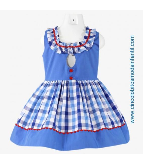 Vestido de niña Miranda