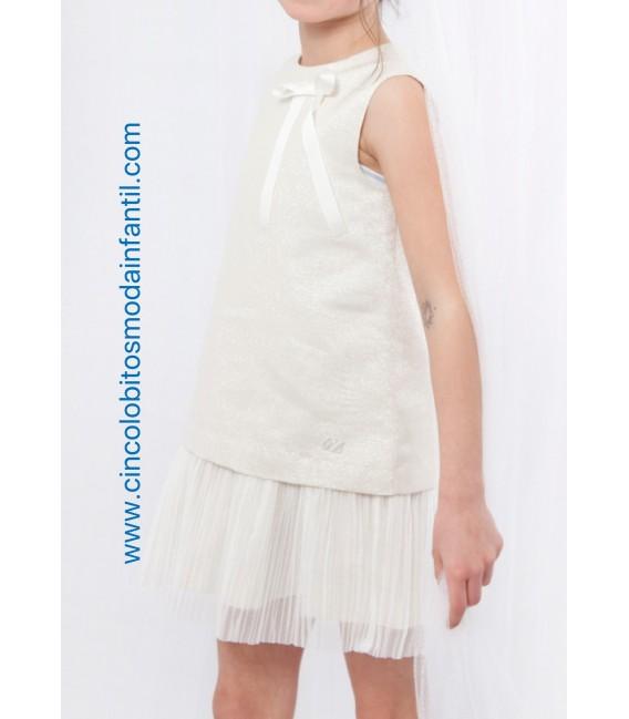 Vestido recto brillante EVE Children