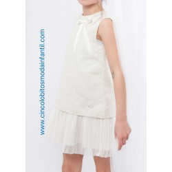 Vestido recto brillante EVE Children